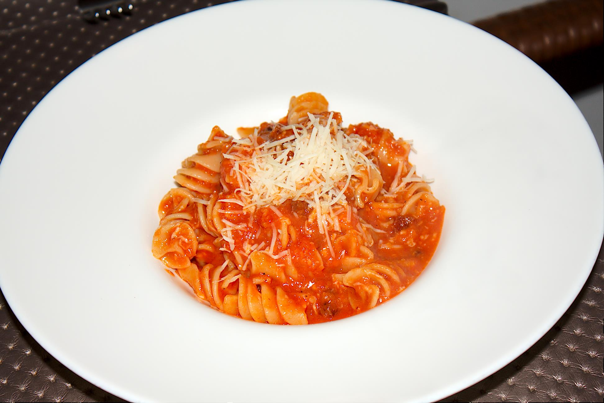 Fusillotti all'Amatriciana