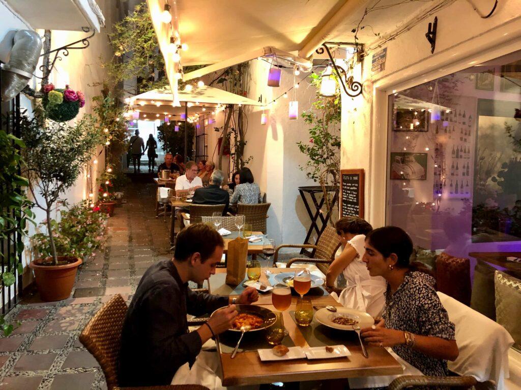 Stuzzikini Italian Restaurant in Marbella